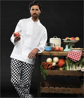 Premier Culinary Long Sleeve Chef's Tunic