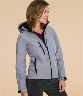 SOLS Ladies Replay Hooded Soft Shell Jacket