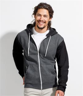 SOLS Silver Unisex Hooded Jacket
