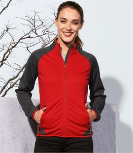 SOLS Ladies Rollings Contrast Soft Shell Jacket