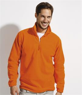 SOLS Ness Unisex Zip Neck Fleece