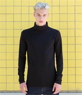 Skinnifit Men Feel Good Stretch Roll Neck Top