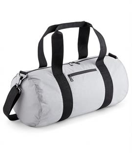 BagBase Reflective Barrel Bag