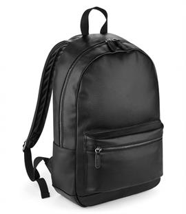 New BagBase Faux Leather Backpack