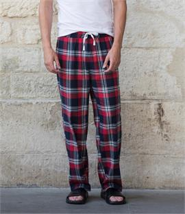 Skinnifit Men Tartan Lounge Pants