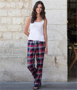 Skinnifit Ladies Tartan Lounge Pants