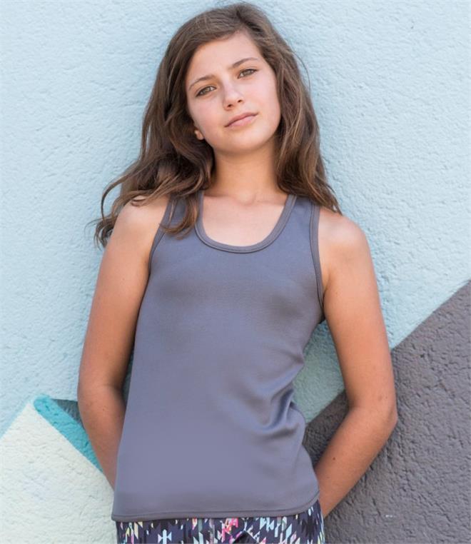 DISCONTINUED - Skinnifit Minni Kids Reversible Workout Vest