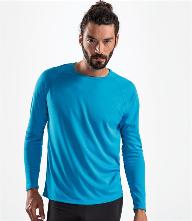 SOLS Sporty Long Sleeve Performance T-Shirt