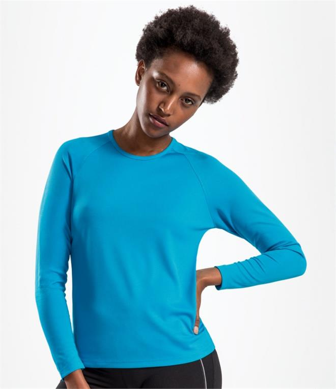 SOLS Ladies Sporty Long Sleeve Performance T-Shirt