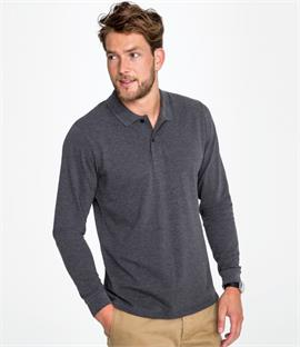 SOLS Perfect Long Sleeve Piqué Polo Shirt