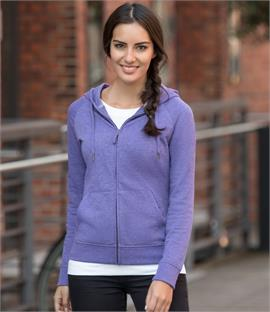 Russell Ladies HD Zip Hooded Sweatshirt