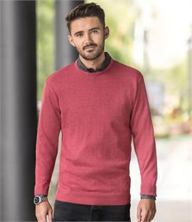 Russell Cotton Acrylic Crew Neck Sweater