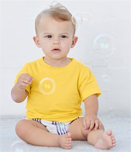 Canvas Baby Crew Neck T-Shirt