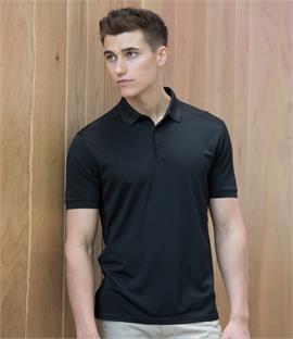 Henbury Stretch Microfine Piqué Polo Shirt