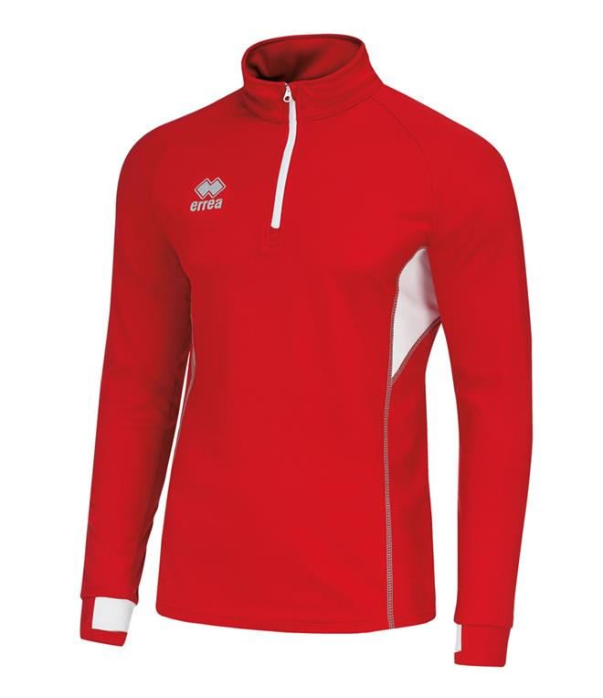 Errea Fartlek Zip Neck Top