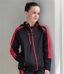 Finden & Hales Kids Active Soft Shell Jacket
