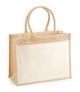 Westford Mill Pocket Jute Shopper
