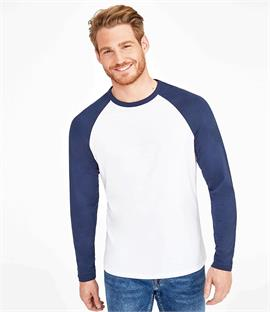 SOLS Funky Contrast Long Sleeve T-Shirt