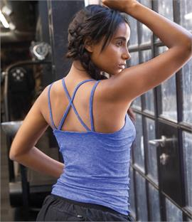 Tombo Ladies Seamless Strappy Vest