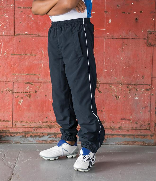 DISCONTINUED - Tombo Kids Piped Track Pants