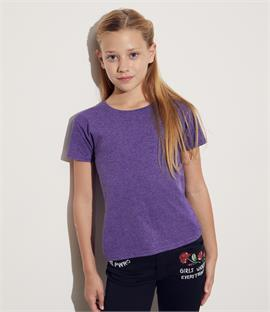 Fruit of the Loom Girls Iconic T-Shirt