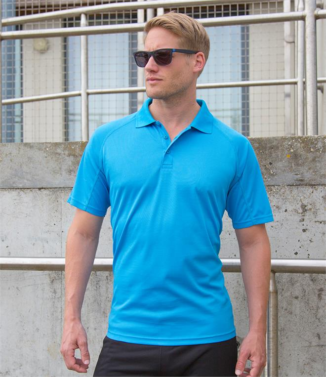 Spiro Impact Performance Aircool Polo Shirt
