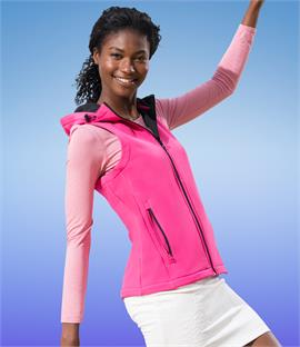 Regatta Standout Ladies Arley Hooded Soft Shell Bodywarmer