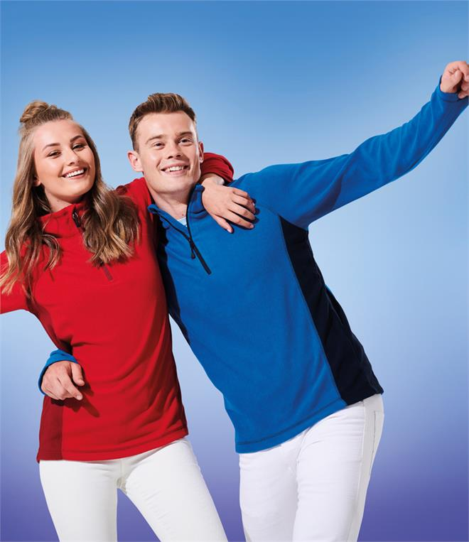 DISCONTINUED - Regatta Standout Unisex Ashmore Zip Neck Fleece