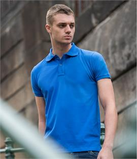 AWDis Stretch Piqué Polo Shirt