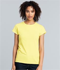 Gildan SoftStyle Ladies Fitted Ringspun T-Shirt