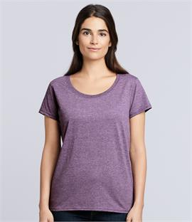 0c5c83bcaa60f8 Gildan Ladies SoftStyle Deep Scoop T-Shirt