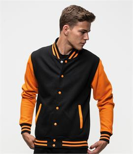 AWDis Just Hoods Varsity Jacket