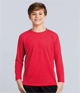 e3f3c5cbffb7 Gildan Kids Performance Long Sleeve T-Shirt