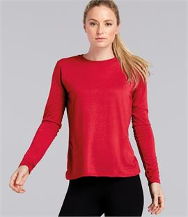 Gildan Ladies Performance Long Sleeve T-Shirt
