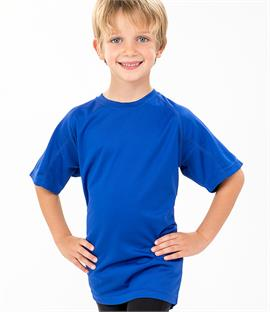 d65ea049efb2 Spiro Kids Impact Performance Aircool T-Shirt