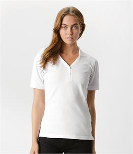 Kustom Kit Sophia Comfortec V Neck Polo Shirt