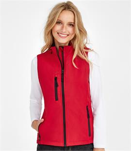 SOLS Ladies Rallye Soft Shell Bodywarmer