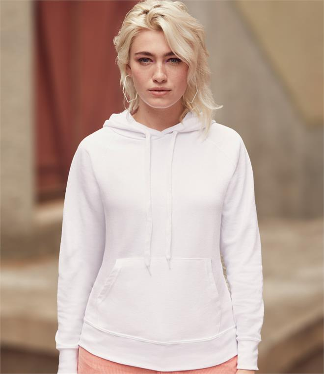 Fruit of the Loom Lady Fit Lightweight Hoodie