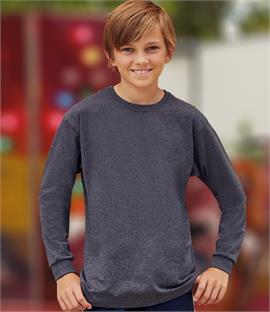 782d0970f18f Fruit of the Loom Kids Long Sleeve Value T-shirt
