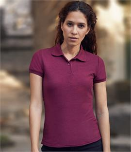 Fruit of the Loom Lady Fit 65/35 Pique Polo Shirt