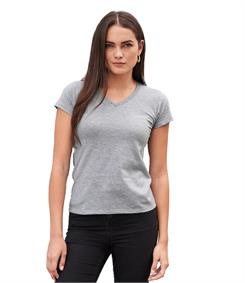 Anvil Ladies Fashion Basic V Neck T-Shirt