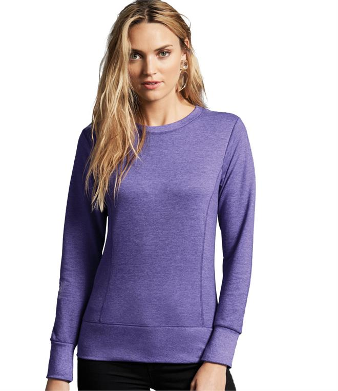 DISCONTINUED - Anvil Ladies French Terry Drop Shoulder Sweatshirt