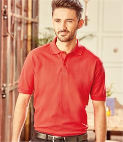 Russell Pique Poly Cotton Polo Shirt