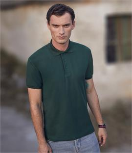 Fruit of the Loom 65/35 Heavy Pique Polo Shirt