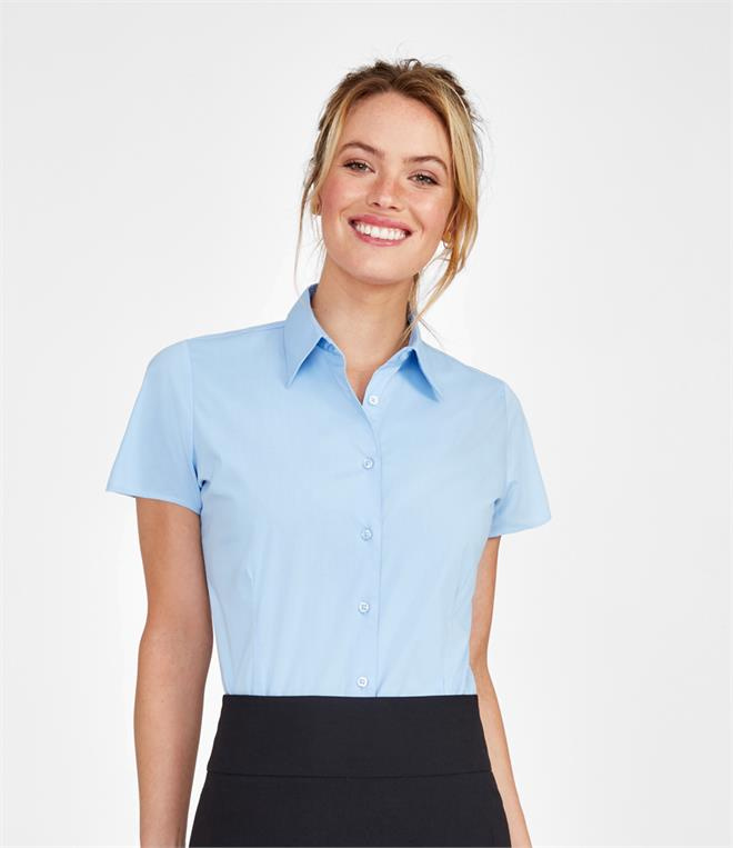 SOLS Ladies Excess Short Sleeve Fitted Shirt