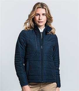 Russell Ladies Cross Padded Jacket