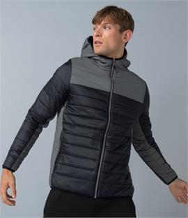 Finden and Hales Contrast Padded Jacket