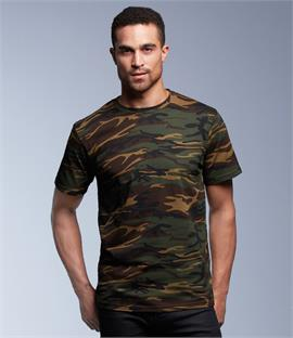 Anvil Heavyweight Camouflage T-Shirt
