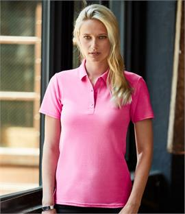 Anvil Ladies Cotton Double Pique Polo Shirt