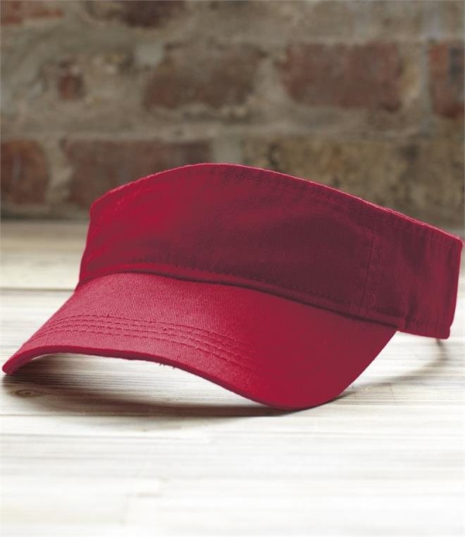 DISCONTINUED - Anvil Low Profile Twill Sun Visor